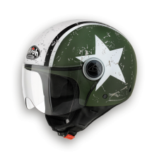 Airoh-Compact-Shield-Green